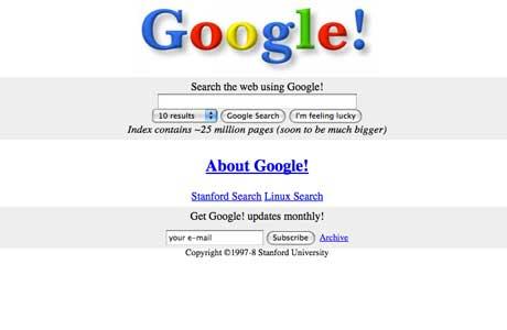 Imagen de los principios de Google