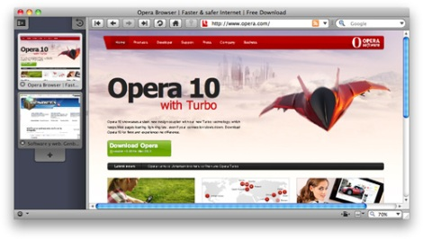 Screenshot de opera 10